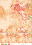 Tablecloth branco Opeque do PVC da película impresso