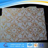 Projetos do teto/cor da gipsita do PVC