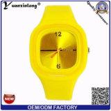 Regalo caliente del nuevo de la llegada Yxl-996 2016 de la manera de los relojes de las mujeres del silicón del deporte del reloj de la jalea del reloj de la marca de fábrica reloj ocasional del cuarzo