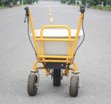 Caminhão de descarga elétrico para transporte de materiais (HG-203)