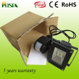 CER RoHS Approved LED Floodlight mit Motion Sensor (ST-PLS-GY-20W)
