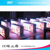 P5mm High Brightness Dual Face Full Color Taxi Top LED Screen para Publicidade