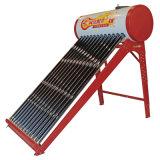 Sin presión calentador de agua solar / Solar Keymark