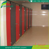 Fumeihua Anti Impact 1000 * 1200 * 1950mm Tamanho HPL Panel WC Partition