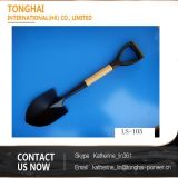2016 Sale caldo Wooden Handle Steel Shovel Used per il giardino e Farming