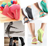 Punktierte Handschuh-Socken Belüftung-Drehbildschirm-Drucken-Gleitschutzmaschine