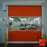 Коммерчески автоматическая телескопичная высокоскоростная дверь (HF-14)