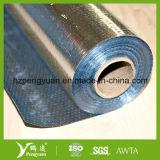 Isolation radiante de bâtiment tissée par grenier r3fléchissant en métal de barrière de tissu de vapeur