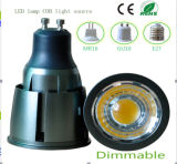 Dimmable 7W GU10 LED COB bulbo