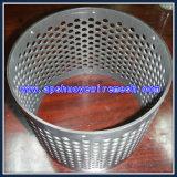 Feuillard perforé de trou rond en aluminium