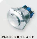 28mm Concave Star-on Push Button Switch