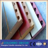 Pannello acustico di legno dei materiali di isolamento acustico del MDF