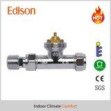 corpo de válvula termostático reto do radiador de 15mm (IDC-V10)