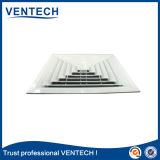 Diffusore quadrato di alluminio di un pezzo dell'aria del rifornimento di modo del soffitto 4 di HVAC