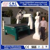 Engraver di CNC per le sculture di legno della grande gomma piuma, figure, animali