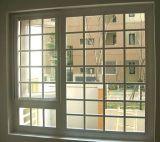 Qualität Belüftung-schiebendes Fenster mit Gitter-Entwürfen