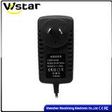 12V 1.5A Adapter de van uitstekende kwaliteit van de Levering van de Macht met de Stop van Au