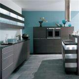 Самомоднейшая конструкция мебели кухни твердой древесины (AGK-023)