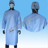 Nonwoven Sterile Disposable Surgeon Gown and Reinforced Sterilized Surgical Gown