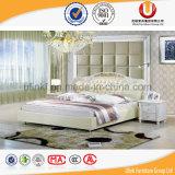 Кровать типа новой комнаты кровати размера евро кожи конструкции 2016 живущий европейская (UL-FT309A)
