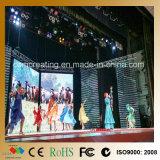 Farbenreiche Innenvideodarstellung des Stadiums-Hintergrund-P6 der Miete-LED
