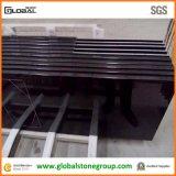 Qualitätsnatürlicher absoluter schwarzer Granit-Gegenoberseiten für Wohn