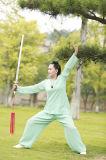 Tai van het Vlas van de Vrouwen van het taoïsme de Toevallige Sportieve Comfortabele Vrije tijd Ontspannen Kleding van de Chi
