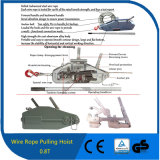 0.8t Tirfor Construction Usage Cable Winch Wire Rope Winch Hand Winch Wire Rope Pulling Hoist