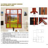 Fábrica Feelingtop Rotura de Puente Térmico oscilobatiente de aluminio de Windows