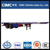 Cimc 베트남을%s 40 톤 세 배 차축 평상형 트레일러 트레일러
