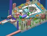 Изготовления конструкции прессформы впрыски снабжения жилищем пылесоса прессформа пластичного пластичная