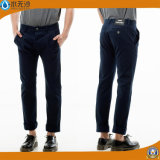 Pantaloni cachi del Chino dei pantaloni di modo del cotone del pantalone del Chino degli uomini