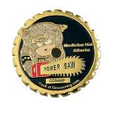 Изготовленный на заказ Promotional Soft Enamel Gold Coin с Rope Edge (Ele-C140)