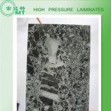 Encimera/poste de la cocina que forma las hojas/el material de construcción /HPL