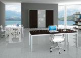حديثة مكتب طاولة مكتب معدن بنية خشبيّة حاسوب طاولة ([سز-ودت602])