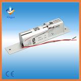 Fechamento elétrico seguro do parafuso do solenóide da falha nova com chave e sinal de fechamento, fechamento elétrico do parafuso com diodo emissor de luz e parafuso oblíquo