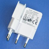 iPhone/iPad/Samsung/PSP DC 5V 1A USB Power Supply Adapter를 위한 EU Plug를 가진 보편적인 USB Travel Charger
