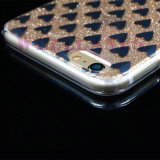 2 en 1 caja del teléfono móvil de IMD TPU para el iPhone 5/6/6p