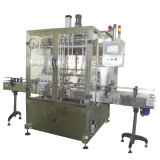 Автоматическая жидкостная машина с покрывать бутылки заполняя обозначающ упаковывать