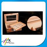 Aceite Ordem personalizada e Humidor de cigarro de madeira de cedro espanhol