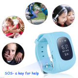 Gelbert Q50 GSM GPS relógio de pulso inteligente Kids Smart Watch para presentes