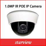 cámaras de seguridad de interior plásticas del CCTV de la red de la bóveda del IP 1.0MP