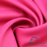 agua de 75D 240t y de la ropa de deportes tela tejida chaqueta al aire libre Viento-Resistente 100% de la pongis del poliester del telar jacquar de la tela cruzada abajo (E203B)