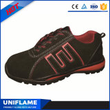 Ботинки безопасности Ufa069 стильной вскользь стальной крышки пальца ноги резиновый единственные