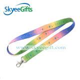 Preiswertes Custom Logo Printing Polyester Lanyards für Gift
