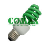 T3 Half Spiral 15W Color Energy Saving Lamp