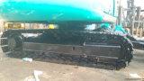 Mini máquina escavadora Livre-Revolvendo hidráulica usada da esteira rolante de Kobelco Sk60 do Verde-Revestimento 0.1~0.5cbm/6000kg