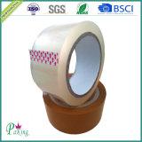Claro de Corea y cinta de empaquetado adhesiva de Brown BOPP