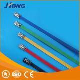 De kleurrijke Band van de Kabel van het Roestvrij staal