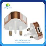 Mini carregador do telefone do USB do telefone móvel com plugue UE/USA